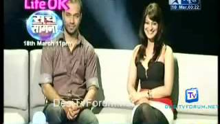 Saas Bahu Aur Saazish SBS [Star News] - 10th March 2012 Video Watch Online Part6