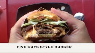 DIY Five Guys Burger