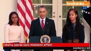 Obama, Şükran Günü Hindilerini Affetti.mp4