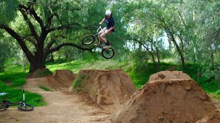 We found some Sick Dirt Jumps!