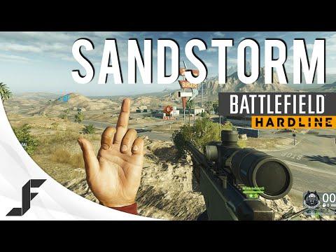 Sand Storm - Battlefield Hardline Beta Conquest Gameplay
