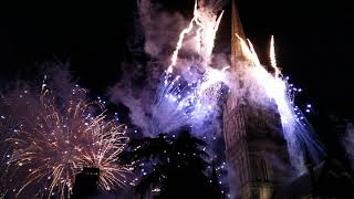 Salisbury Cathedral Lift Off Fireworks
