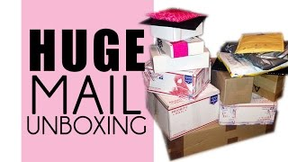 HAUL| Huge Mail Unboxing!