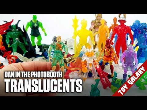 Translucent Action Figures Crystar, Ben10, Spawn  Dan in the Photobooth #136