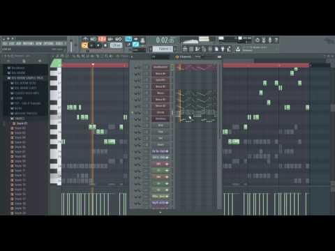 R3hab & Headhunterz - Won't Stop Rocking MELODY COVER IN FL STUDIO