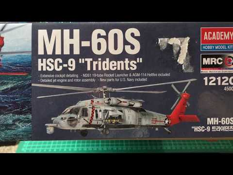 Kit Preview Academy MH-60S 1/35