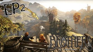 Brothers: A Tale of Two Sons《兄弟:双子传说》Episode.02~進擊の草之巨人xD~『搞笑』( 双人游戏 )