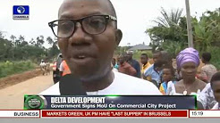 News Across Nigeria: Delta Community Residents Complain Of Poor Road
