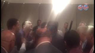 شاهد اشتباك وتلاسن مرتضى منصور داخل البرلمان ونائب يطرده خارج الجلسه ورد فعل مرتضى