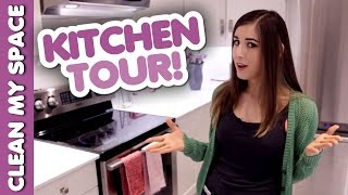 KITCHEN TOUR! (Clean My Space) Thumbnail