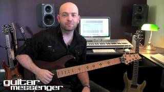 Future Metal Shred - Paul Wardingham: GuitarMessenger.com Featured Lesson