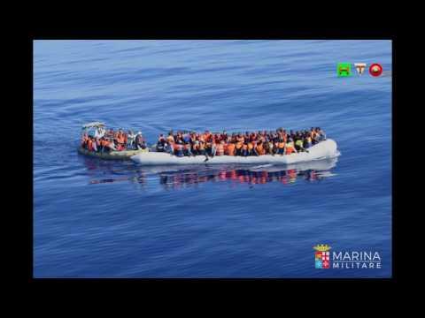 MARINA MILITARE: Tre unità navali hanno soccorso circa 600 Migranti in difficoltà - www.HTO.tv