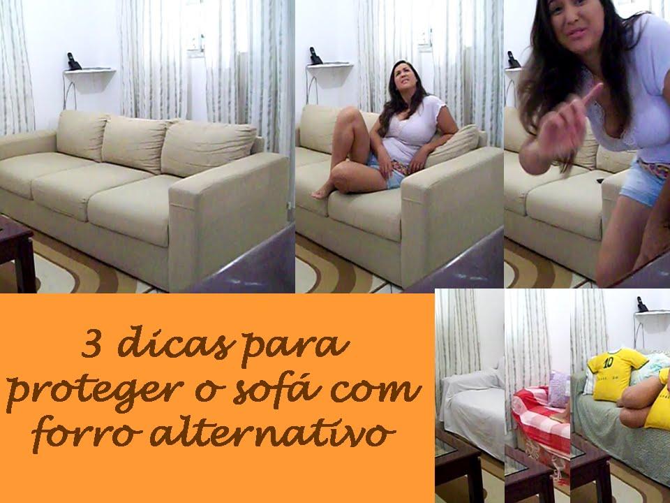 Diy 3 dicas de como proteger sof com forro alternativo for Forros para sofas