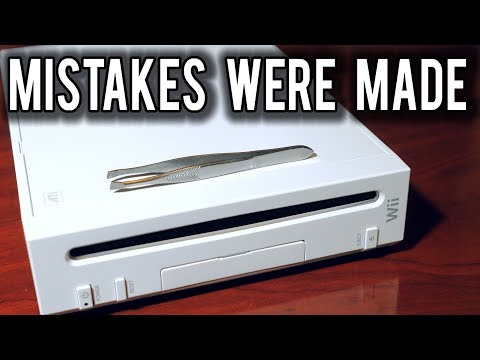 How a pair of Tweezers defeated security on the Nintendo Wii | MVG