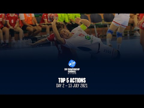 W19 EHF Championship - Top5 Actions - Day 2
