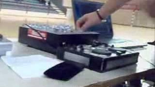 Disk Assembly school college -Alberghiero Sassari Dj console