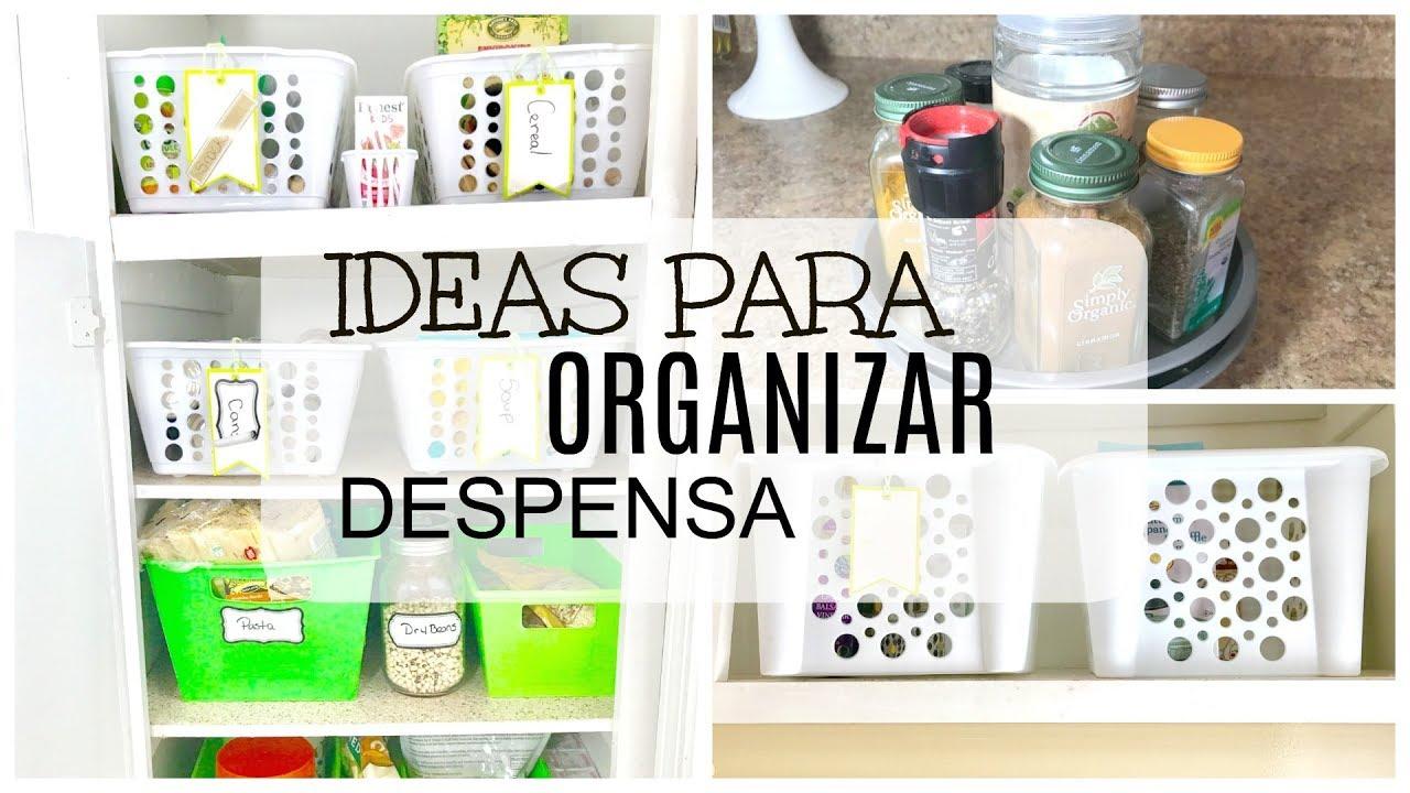 Como organizar cocina peque a como organizar despensa for Como ordenar la cocina