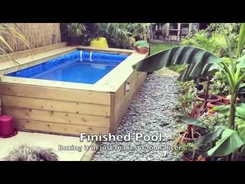 Building A Straw Bale Pool Youtube