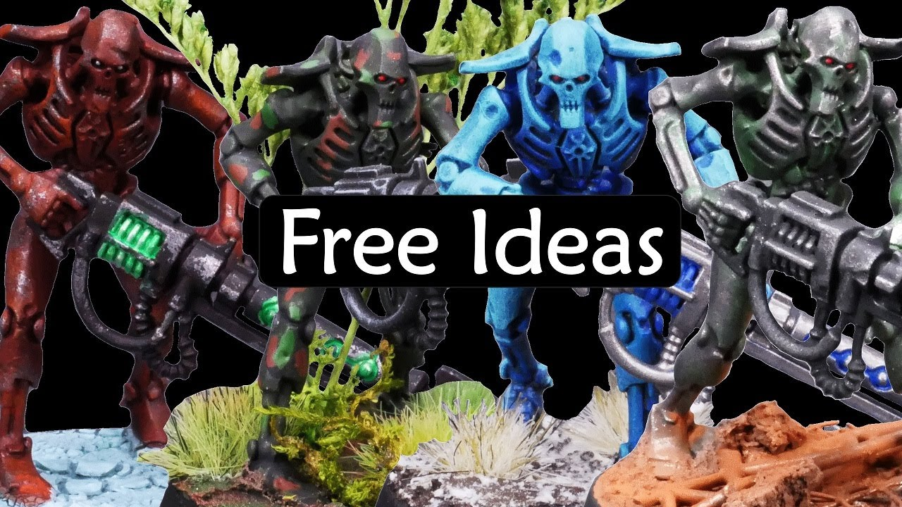 Clever Strategies for Painting Warhammer Armies: Ten Efficient Ideas to Make Main Colors Look Great!