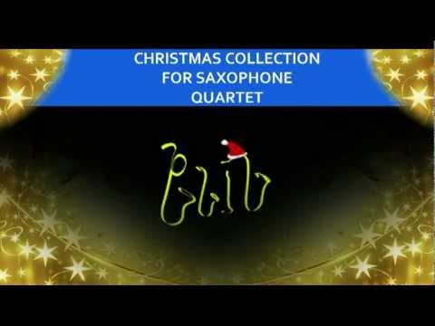 Christmas Sheet Music for Saxophone Quartet