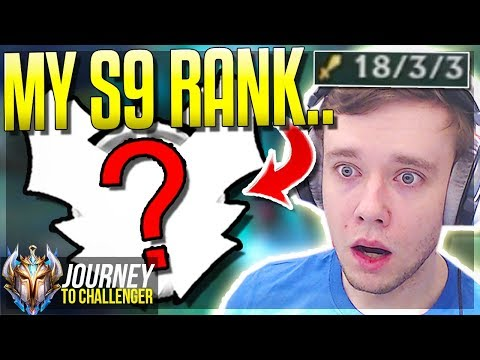 PLACEMENTS DONE THIS IS THE RANK I START IN? - Journey To Challenger  LoL