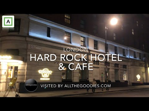Hard Rock Hotel & Cafe, London | Allthegoodies.com