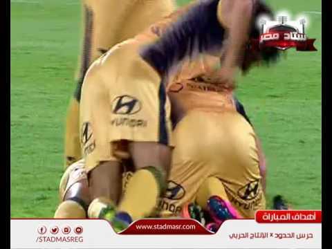 اهداف مباراة - حرس الحدود و الإنتاج الحربي 0-3| الجولة 32 - الدوري المصري