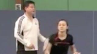 (七)单打如何从反手后场移动到其他角落 Badminton Footwork Practice 7