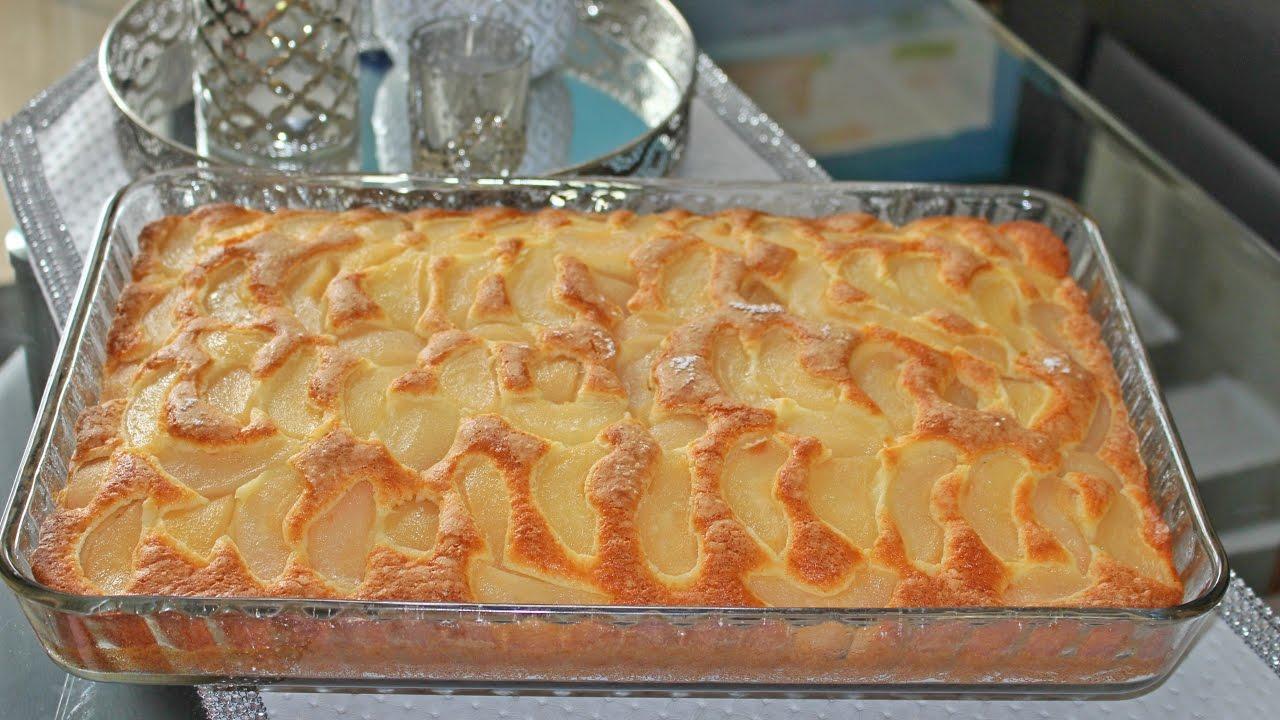 Muhteşem dokusuyla nefis armutlu kek