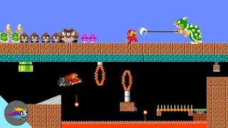 Mario new circus world and bowser force!
