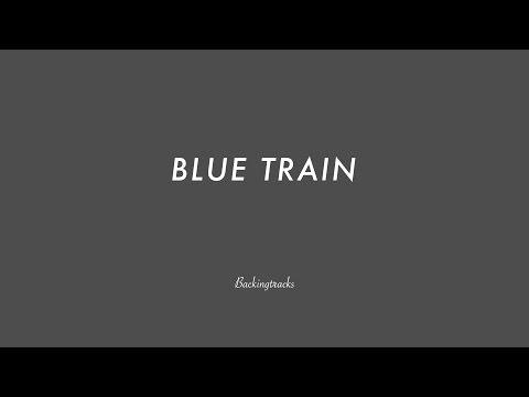 BLUE TRAIN chord progression (no piano) - Backing Track Play Along Jazz Standard Bible 2