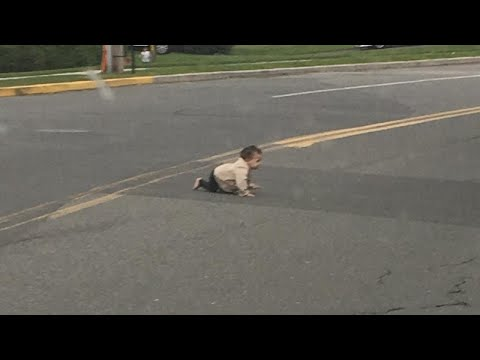 How Did a 10-Month-Old Baby Crawl Onto Busy New Jersey Road?