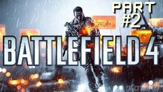 Battlefield 4 Gameplay PC Walkthrough Campaign Mission #2 - Factory Rooftop