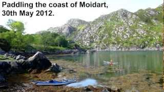 Sea Kayaking Scotland -  Moidart Matt.