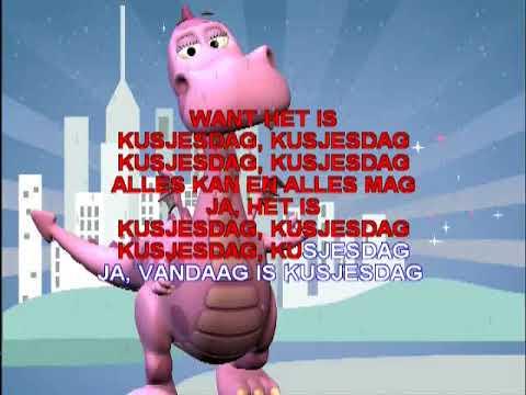 K3  - Kusjesdag ( KARAOKE ) Lyrics