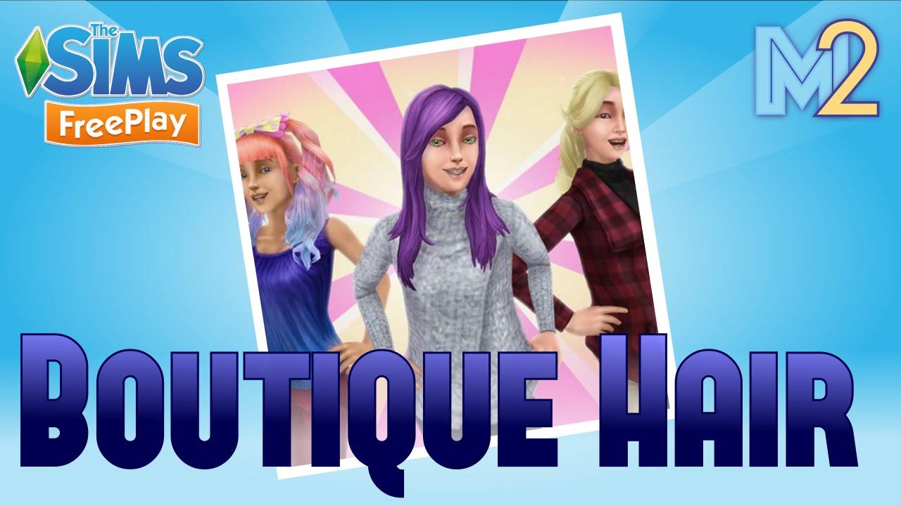 sims freeplay - boutique hair event (tutorial & walkthrough)