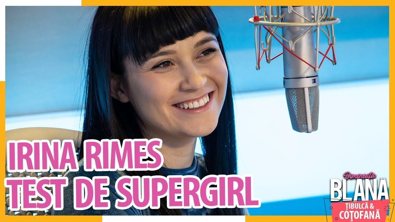 Test de SUPERGIRL cu IRINA RIMES!  | #DimineataBlana