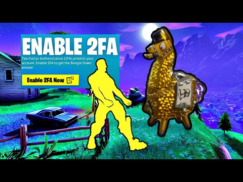 Fortnite 2FA GamePlay What You Would Get - YouTube