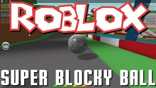 Greg, and Nick Play Roblox - Super Blocky Ball!