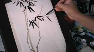 My Bamboo Sumi-e Brush Painting #4 C eBayStore 4 Details