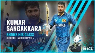 Sangakkara shows his class | Four consecutive tons at CWC 2015