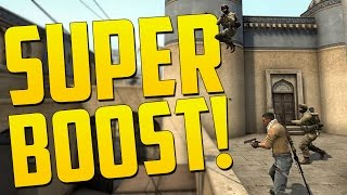 THE SUPER BOOST - CS GO Funny Moments in Competitive
