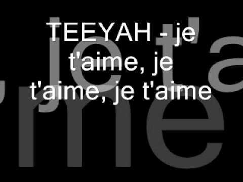 TEEYAH   Je T'aime, Je T'aime, Je T'aime   ZOUK 2004