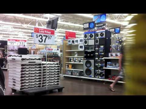 Walmart Stereo Prank