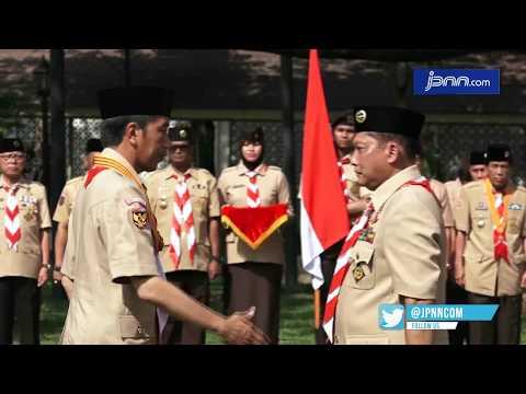 Jokowi Lantik Budi Waseso jadi Ketua Kwarnas Pramuka - JPNN.COM