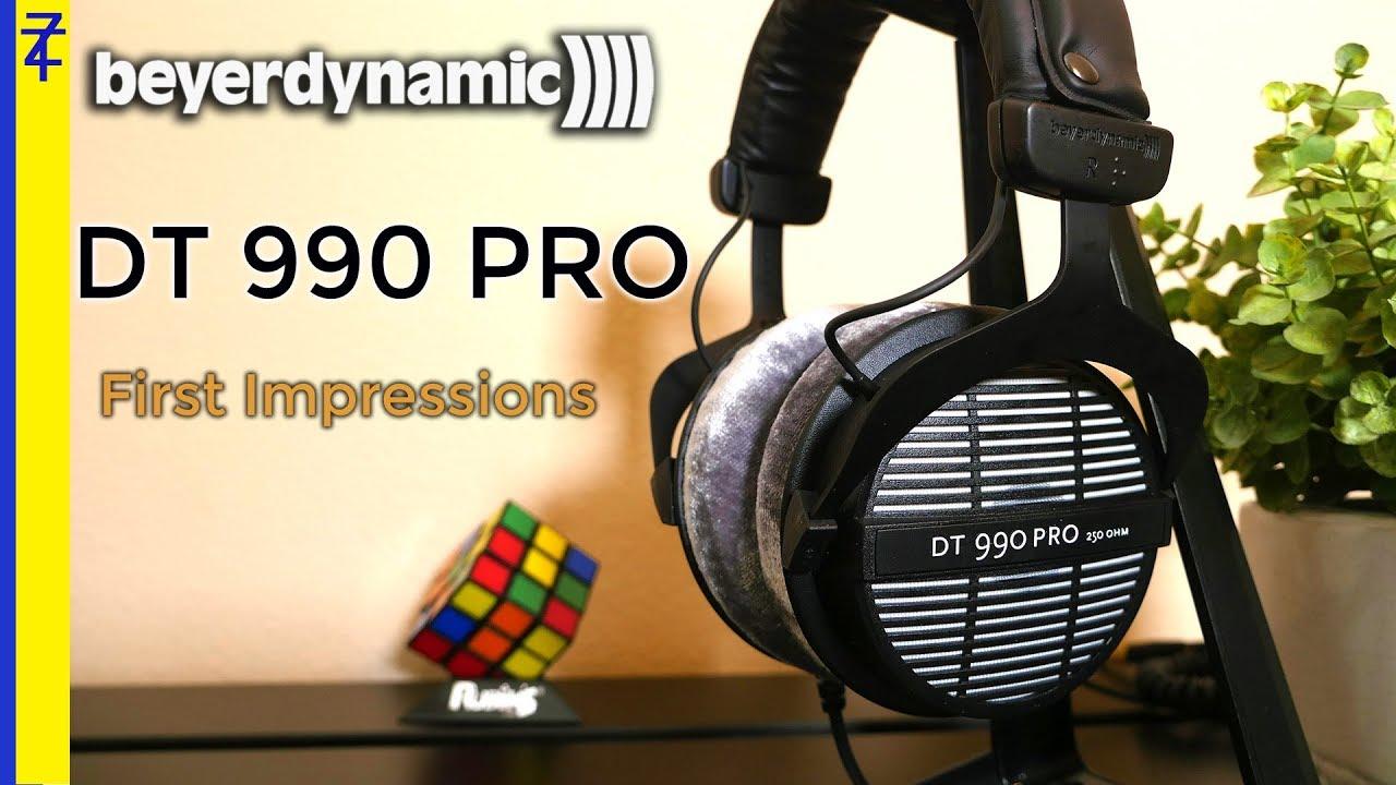 beyerdynamic dt 990 pro unboxing best headphones under 150 youtube. Black Bedroom Furniture Sets. Home Design Ideas