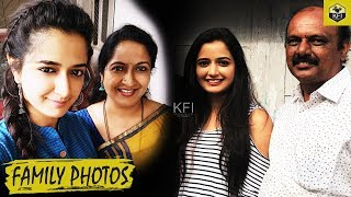 Ashika Ranganath Family photos With Mother,Father And Sister