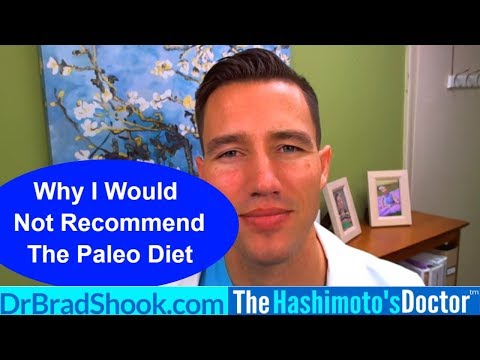 Why I don't recommend the Paleo Diet for autoimmune conditions like Hashimoto's Thyroid.