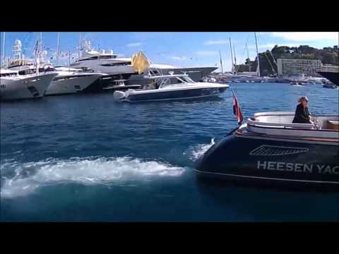 Monaco Yacht Show 2016   SuperYacht Walk through 60M.