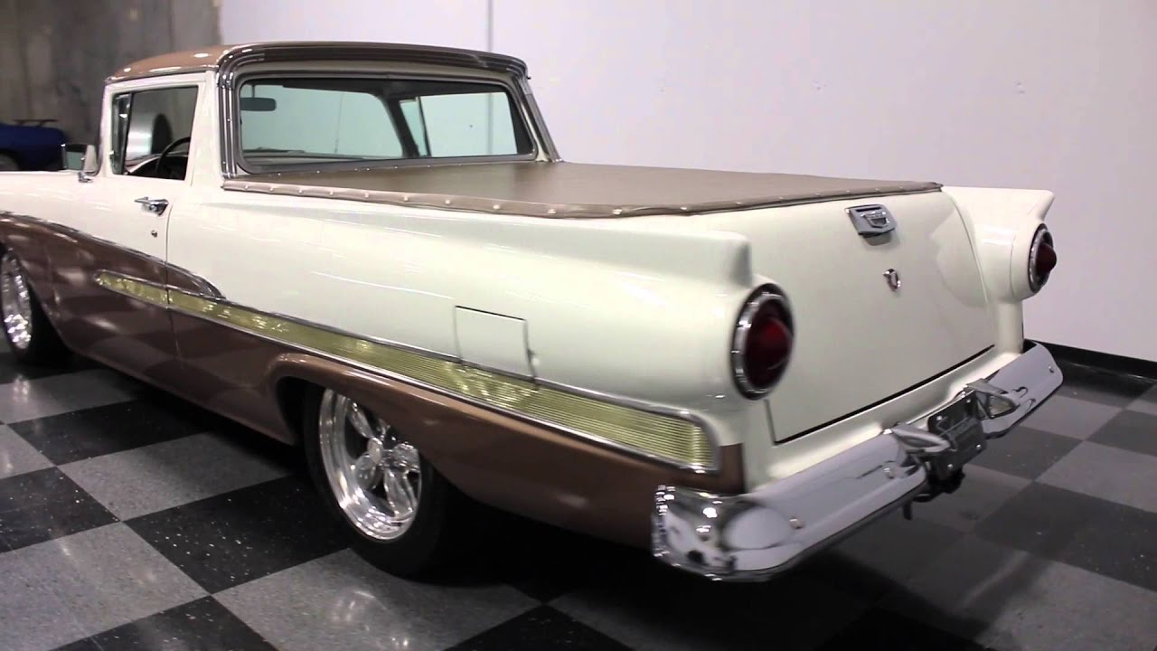 2354 atl 1958 ford ranchero - 1958 Ford Ranchero For Sale